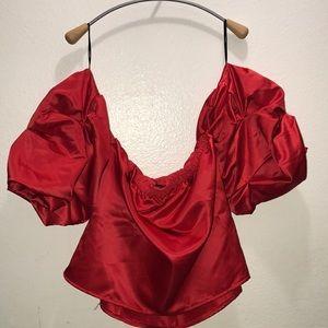 Forever 21 ruffled blouse